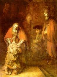 Rembrandt Return of Prodigal Son