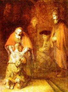 "Rembrandt, ""The Return of the Prodigal Son"""