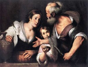 Prophet Elijah and the Widow of Sarepta