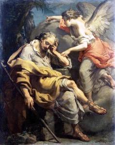 St. Joseph's Dream.   Gaetano Gandolfi, 1790