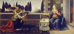 Leonardo Da Vinci, Annunciazione