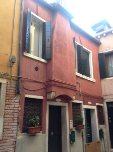Front of our apartment in Venice