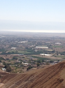 View of Jericho from Mount of Temptation
