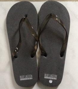 Blue Lagoon Flip Flops