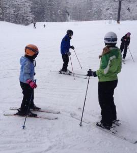 Family Ski Lesson