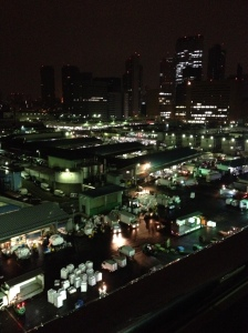 A view of market from above