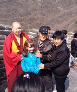 Rachel on the Great Wall